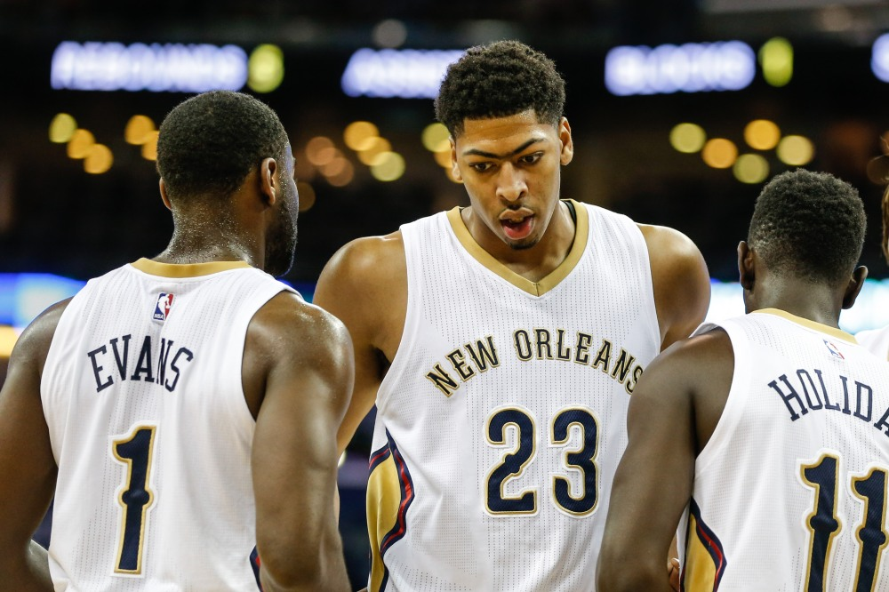 Anthony Davis will give the Warriors fits (USA Today Sports)