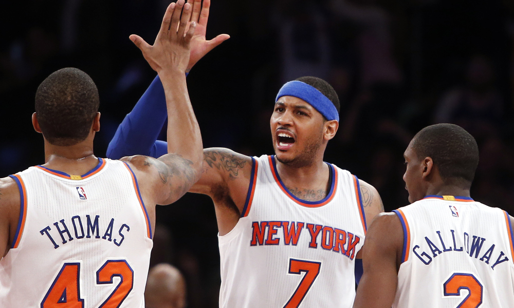 Don't be fooled, the Knicks are for real (USA Today Sports).